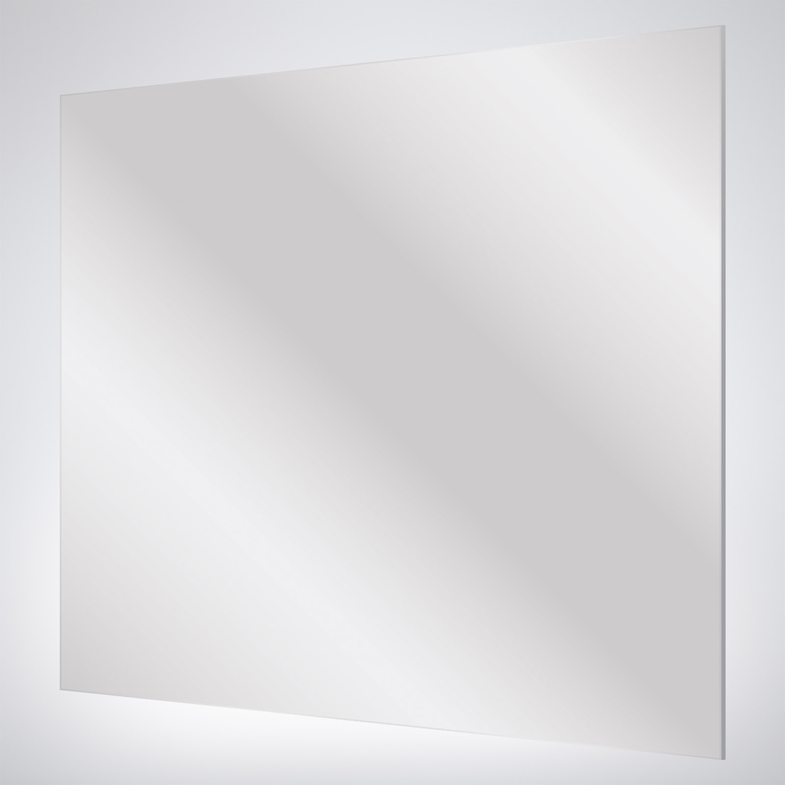 Flat Edge Mirror – 900 x 900 x 5mm