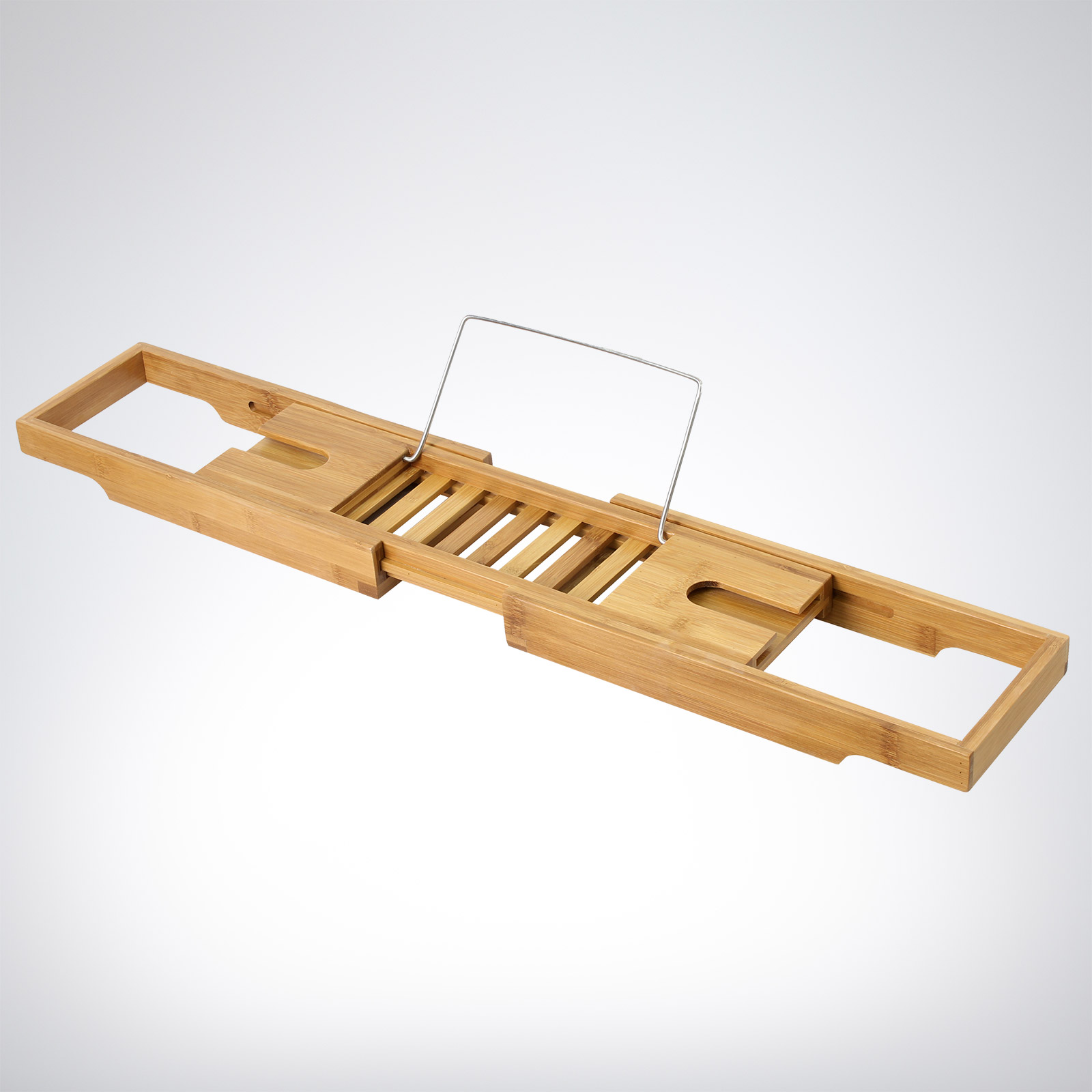 Bamboo Extendable Bath Rack